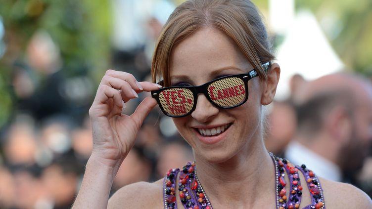 A Cannes, il y a ceux qui voient des stars et ceux qui voient des films. (ANNE-CHRISTINE POUJOULAT / AFP)