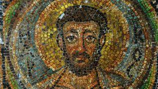 Mosaïque byzantine du VIe siècle chypriote représentant Saint-Marc  (Jan HENNOP / AFP)