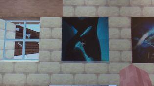 """Le décor de la galerie """"Corbata Rosa"""" sur le web (Louis-Patrick Brunet)"""