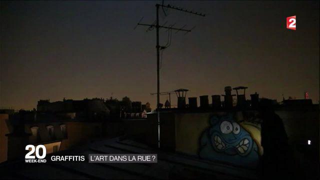 Le graffiti, un art qui s'embourgeoise ?
