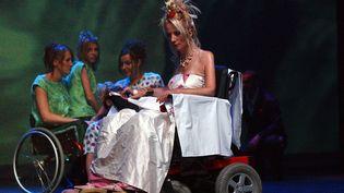 Premier forum européen des créateurs de mode pour handicapés, Tours, 2005  (DANIELLE LABORDE/PHOTOPQR/LA NOUVELLE REPUBLIQUE)