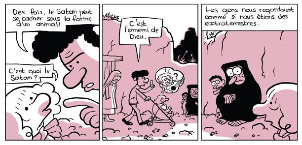 """L'arabe du futur"", le père  (Riad Sattouf / Allary)"
