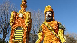 La fête du citron à Menton (VALERY HACHE / AFP)