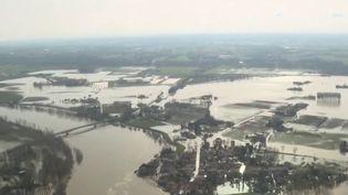 Crue : les sinistrés du Lot et Garonne, face aux dégâts (France 3)