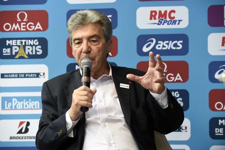 André Giraud, président de la FFA (JEAN MARIE HERVIO / DPPI MEDIA)