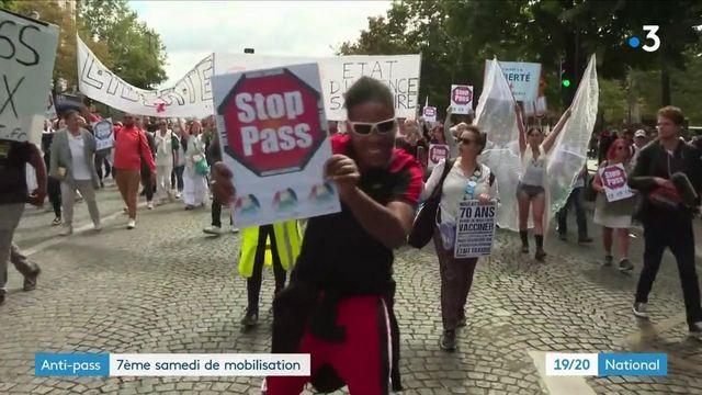 Manifestations anti-pass sanitaire : un nouveau samedi de mobilisation