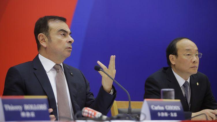 Le patron de Renault,Carlos Ghosn, le 16 décembre 2013, à Wuhan,en Chine. (DARLEY SHEN / REUTERS)