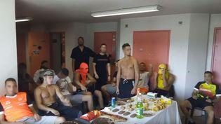 Le clip tourné par les détenus de la prison d'Aiton a été publié sur internet. (CAPTURE D'ECRAN YOUTUBE)