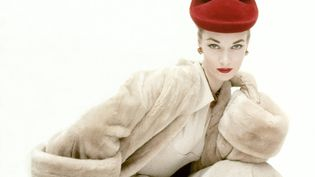 La mannequin Janet Randy en Balenciaga en 1951 (CLIFFORD COFFIN / CONDE NAST COLLECTION EDITORIAL)