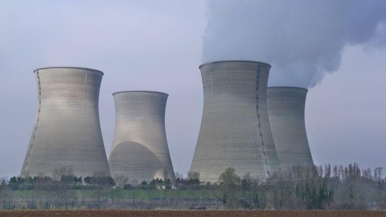 La centrale nucléaire du Bugey, à Saint-Vulbas (Ain), en mars 2010. (CITIZENSIDE / AFP)