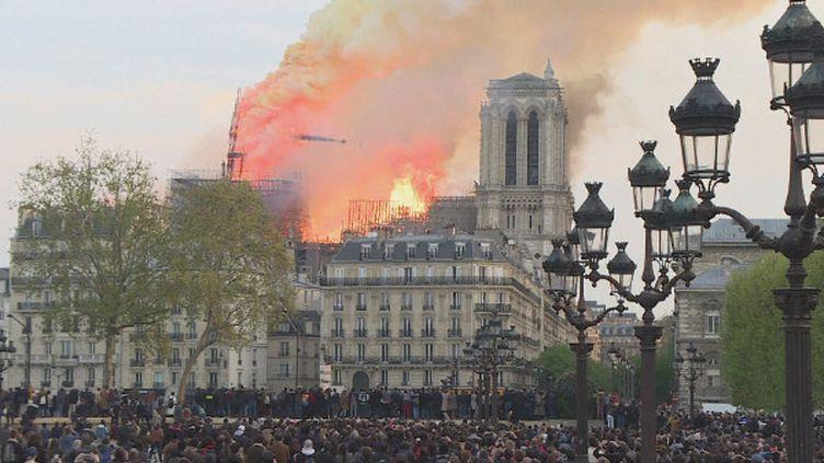 Le monde entier est ému après l'incendie de Notre-Dame (France 24)