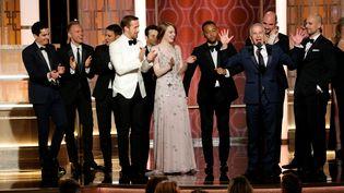 """Le film """"La La Land"""" a remporté sept Golden Globes lors de la cérémonie, le 8 janvier 2017, à Los Angeles (Etats-Unis). (REUTERS)"""