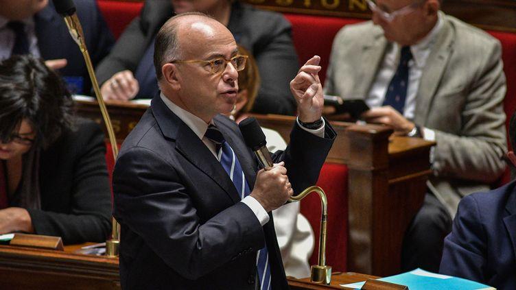 Bernard Cazeneuve, le 2 novembre 2016, à l'Assemblée nationale. (YANN KORBI / AFP)