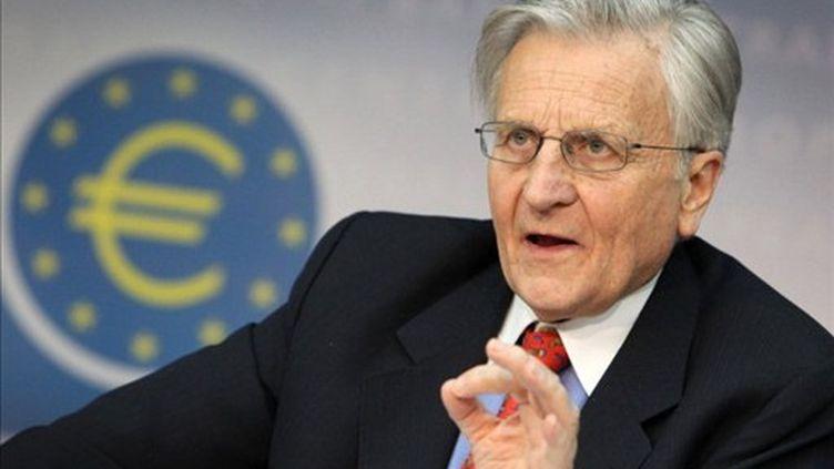 Le président de la BCE, Jean-Claude Trichet (AFP - DANIEL ROLAND)