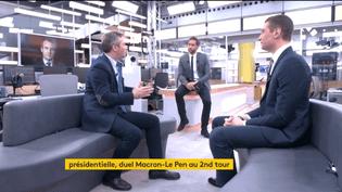 Débat entre Jean-Baptiste Lemoyne (EM) et Jordan Bardella (FN) (FRANCEINFO)