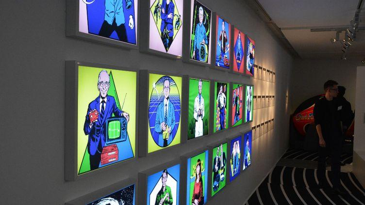 """L'exposition """"Game, le jeu vidéo à travers le temps"""", en accès gratuit à la fondation EDF à Paris jusqu'au 27 août 2017 (RADIO FRANCE / FRANCEINFO)"""