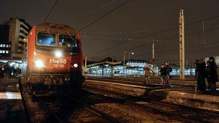 Gare de Lyon (Paris), le 11 décembre 2011. (MIGUEL MEDINA / AFP)