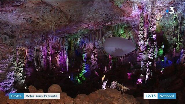 Sortie : voler en ballon dans grotte de la Salamandre