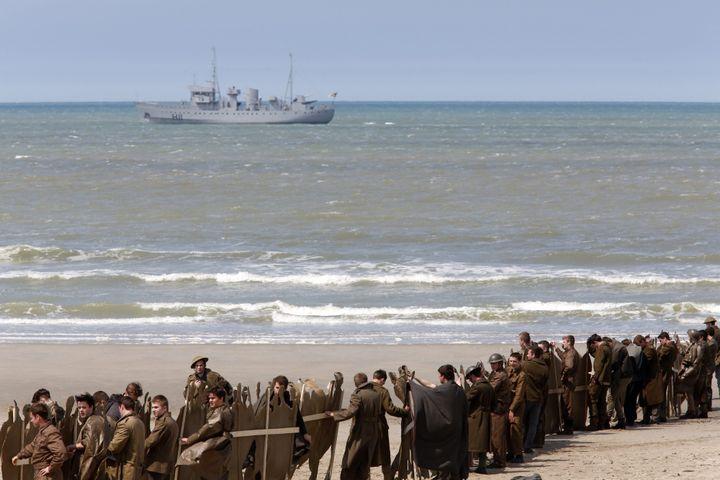 "Le tournage de ""Dunkirk""  (THIBAULT VANDERMERSCH/EPA/MaxPPP)"