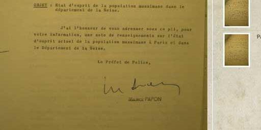 Document publié par El Watan (DR)