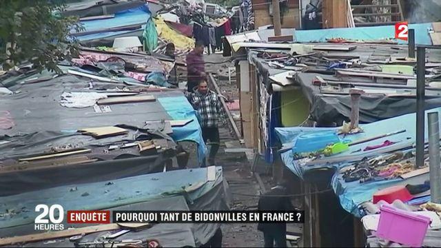 Pauvreté : en France, le retour des bidonvilles