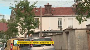 Le pavillon de Noisy-le-Sec où unemère et quatre enfantsont été tués (FRANCEINFO)