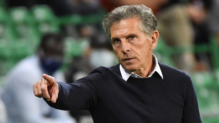 Claude Puel, l'entraîneur de Saint-Etienne. (PHILIPPE DESMAZES / AFP)