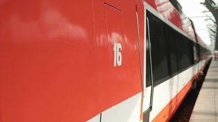 TGV : la mythique rame 16 de nouveau à quai pour fêter les 40 ans (France 3)