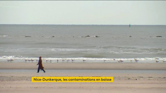 Covid-19 : des signes d'amélioration à Dunkerque et Nice, les premières zones confinées