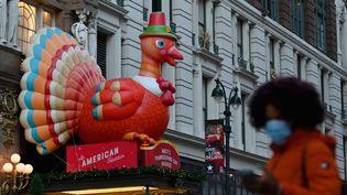 Thanksgiving à l'heure du Covid-19 à New-York, aux États-Unis. (ANGELA WEISS / AFP)
