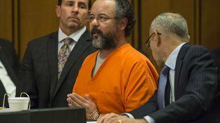 Ariel Castro lors de son procès à Cleveland (Etats-Unis),le 1er août 2013. (ANGELO MERENDINO / GETTY IMAGES NORTH AMERICA)