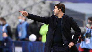 Mauricio Pochettino a prolongé son contrat d'entraîneur avec le PSG jusqu'au 30 juin 2023. (FRANCK FIFE / AFP)