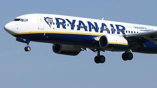 Un avion de la compagnie aérienne Ryanair. (PAU BARRENA / AFP)