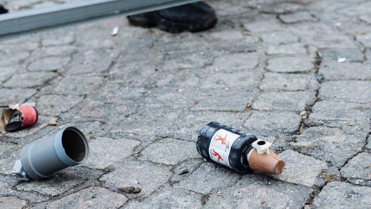 Une grenadeGLI-F4 en novembre 2019. (KARINE PIERRE / HANS LUCAS)