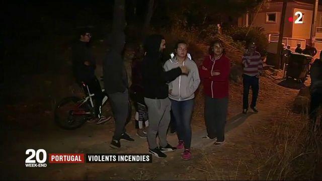Portugal : de violents incendies dans le secteur de Sintra