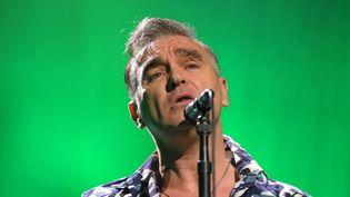 Morrissey sur scène à Reading, en Pennsylvanie (USA), le 18 janvier 2013  (Matt Smith / Sipa)