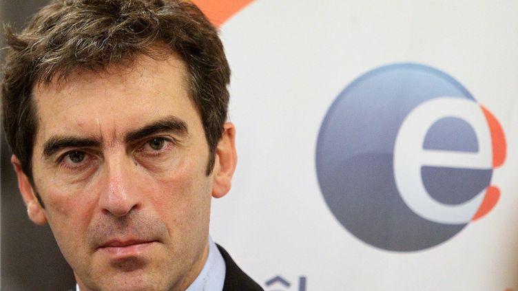 Jean Bassères, directeur général de Pôle emploi, le 27 décembre 2011 à Reims. (FRANCOIS NASCIMBENI / AFP)