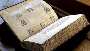 L'un des manuscrits bientôt accessibles à tous sur internet.  (France 3 / Culturebox)