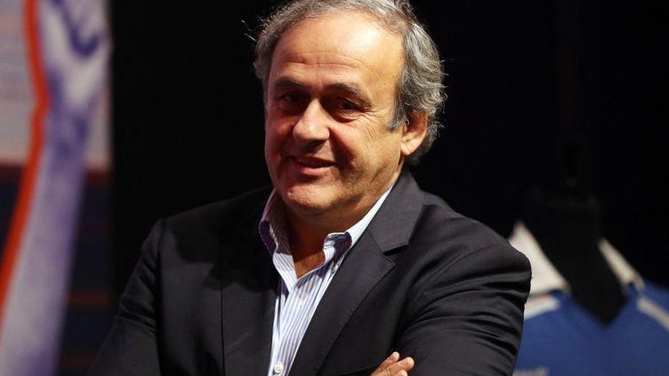 Michel Platini, le 22 novembre 2019. (VALERY HACHE / AFP)
