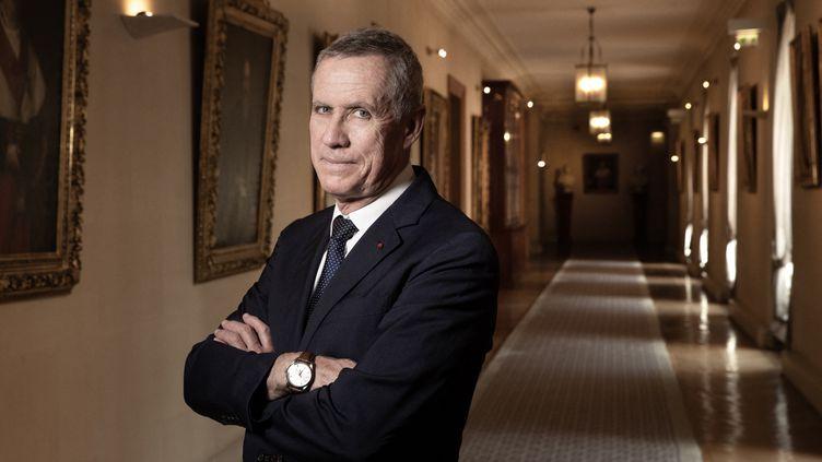 François Molins, procureur général près de la cour de cassation, à Paris, le 17 juillet 2019. (JOEL SAGET / AFP)
