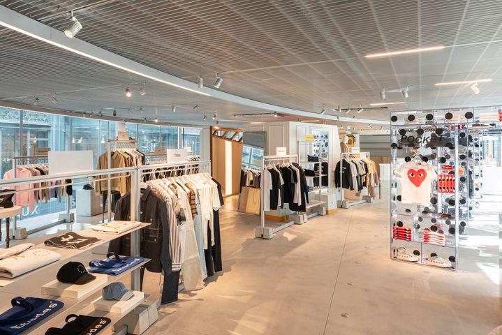 Bâtiment Rivoli de la Samaritaine consacré au streetwear, juin 2021 (STÉPHANE ABOUDARAM  WE ARE CO)