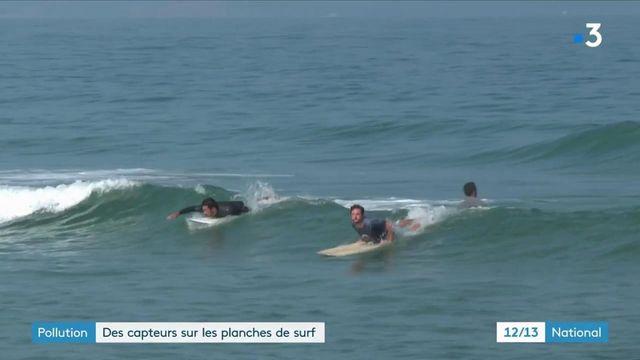 Pollution : ils font du surf pour jauger de la qualité de l'eau