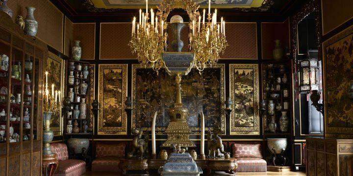 Le Musée chinois de l'impératrice Eugénie, au sein du Château de Fontainebleau.  (GERARD BLOT / Château de Fontainebleau / RMN-Grand Palais )