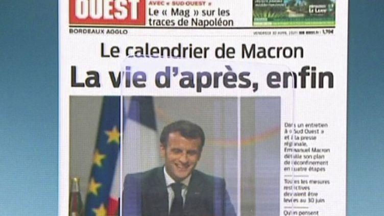 Déconfinement : les enjeux des annonces d'Emmanuel Macron (FRANCE 2)