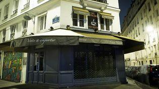 La pizzeria Casa Nostra, dans le XIe arrondissement de Paris. (MARTIN BUREAU / AFP)