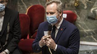 Jean-Baptiste Lemoyne, lors des questions au gouvernement, à Paris, le 1er décembre 2020. (MAXPPP)