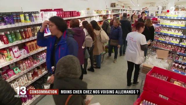 Consommation : moins cher chez nos voisins allemands ?