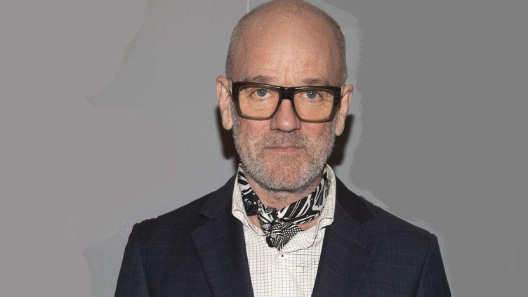 Michael Stipe, ancien leader du groupe américain R.E.M., le 8 mai 2019 à New York. (ANDY KROPA/AP/SIPA / AP)