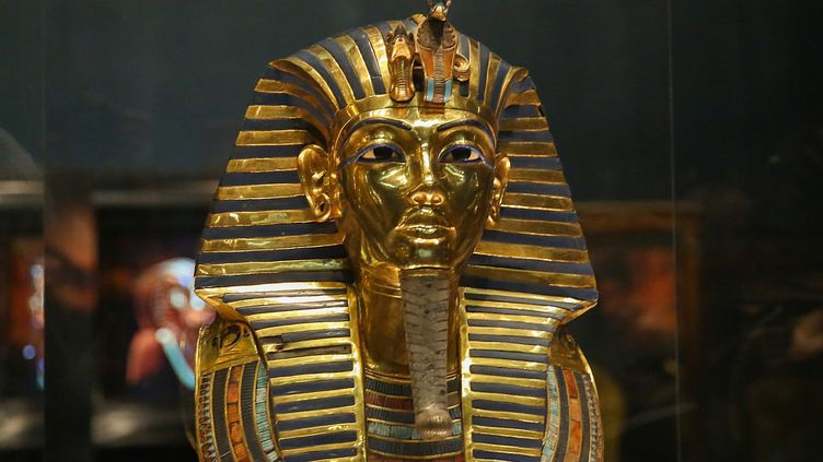 Le masque de Toutankhamon a retrouvé son lustre.  (Mostafa Elshemy / ANADOLU AGENCY)