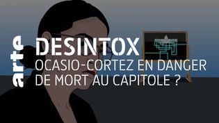 Alexandria Ocasio-Cortez était-elle présente lors de l'assaut du Capitole à Washington ? (ARTE/2P2L)